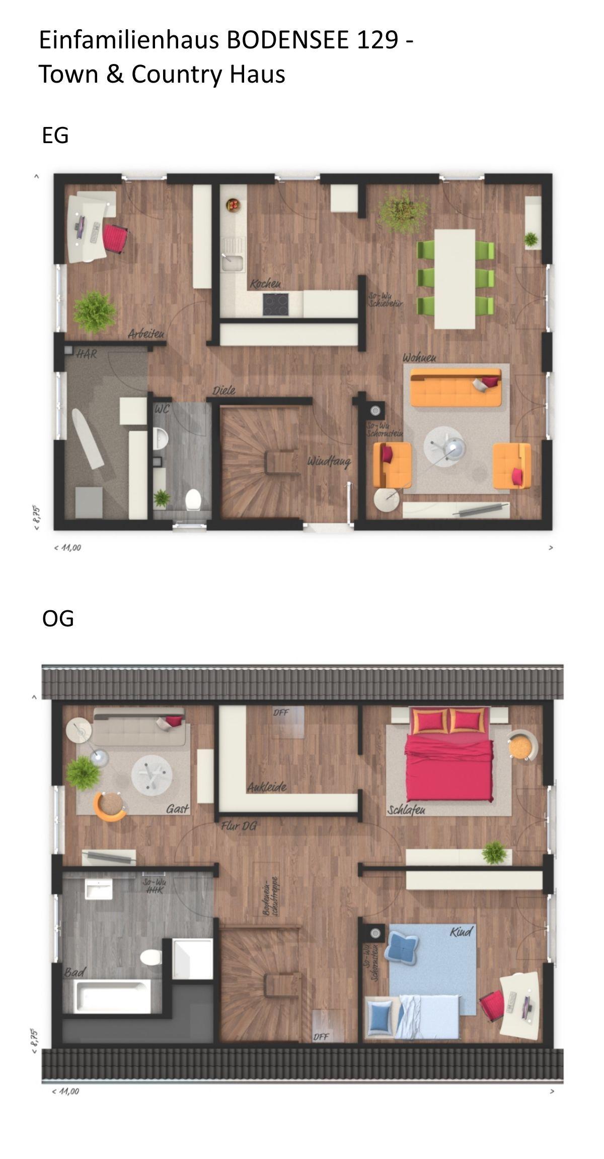 Klassisches Einfamilienhaus BODENSEE 129