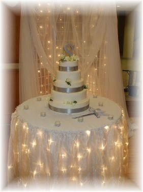wedding cake backdrop i