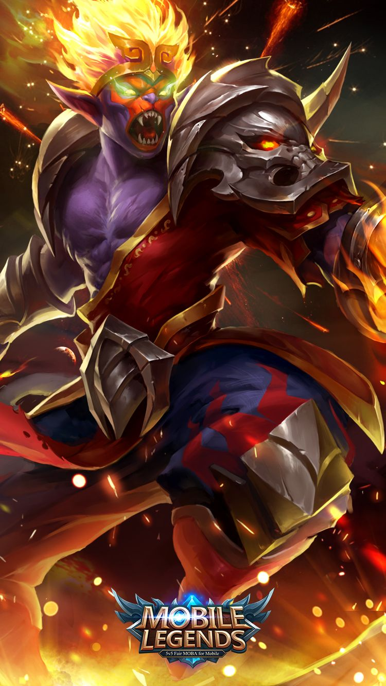 Wallpaper Mobile Legends Hd Mobil Legend Pinterest Mobile
