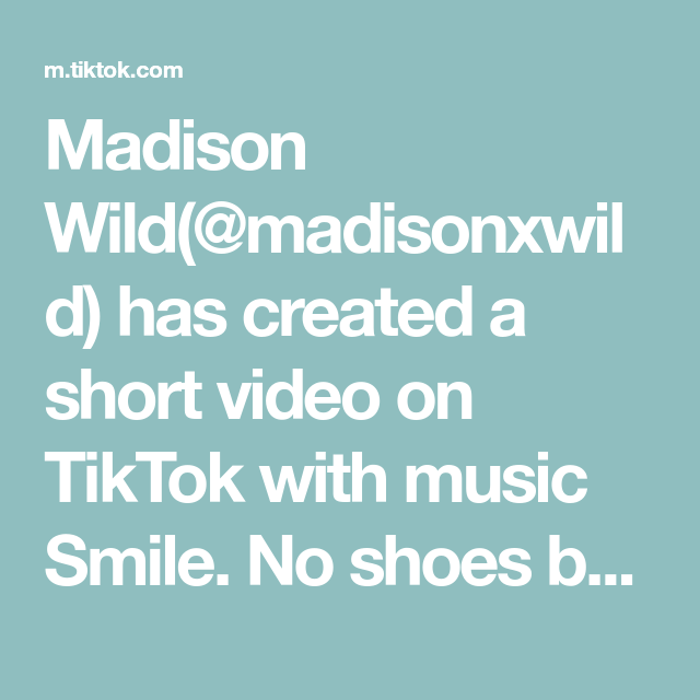 Madison Wild Madisonxwild Has Created A Short Video On Tiktok With Music Smile No Shoes Bc These Are Def Barefoot Madison Come Little Children The Originals