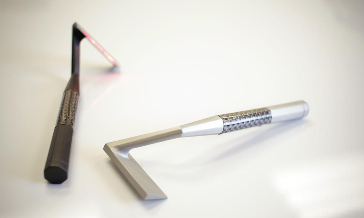 This Non-Traditional Razor Uses A Laser To Shave Your Face. For the closest shave of your life.