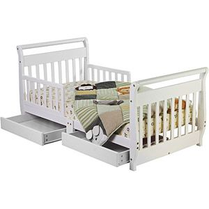 Baby Toddler Bed With Storage Toddler Bed Bed