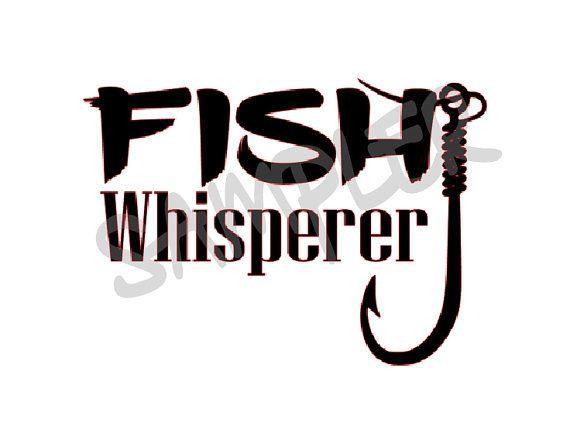 Fish whisperer decal for yeti boat rv atv outdoor for The fish whisperer