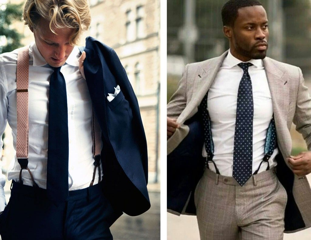 From Wall Street To James Bond Suspenders All The Way