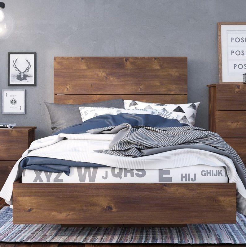 Lockheart Platform Bed Timeless bedroom, Furniture