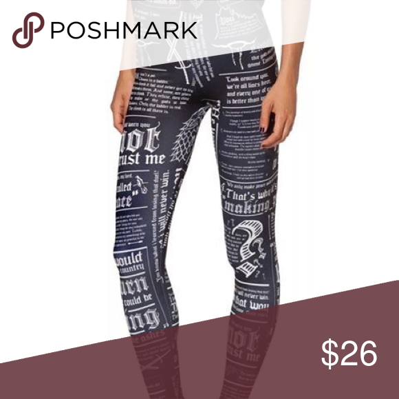 a8eba7a78b Crazy Leggings Harry Potter Newspaper Harry Potter Newspaper Yoga Leggings.  Workout with Style with this Crazy Fitness Legging. Lycra Material. Pants  ...