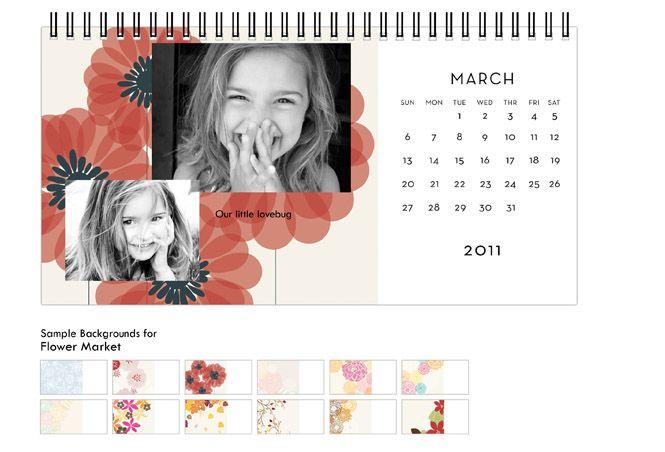 Shutterfly Calendars Desk Calendars Desktop Calendar