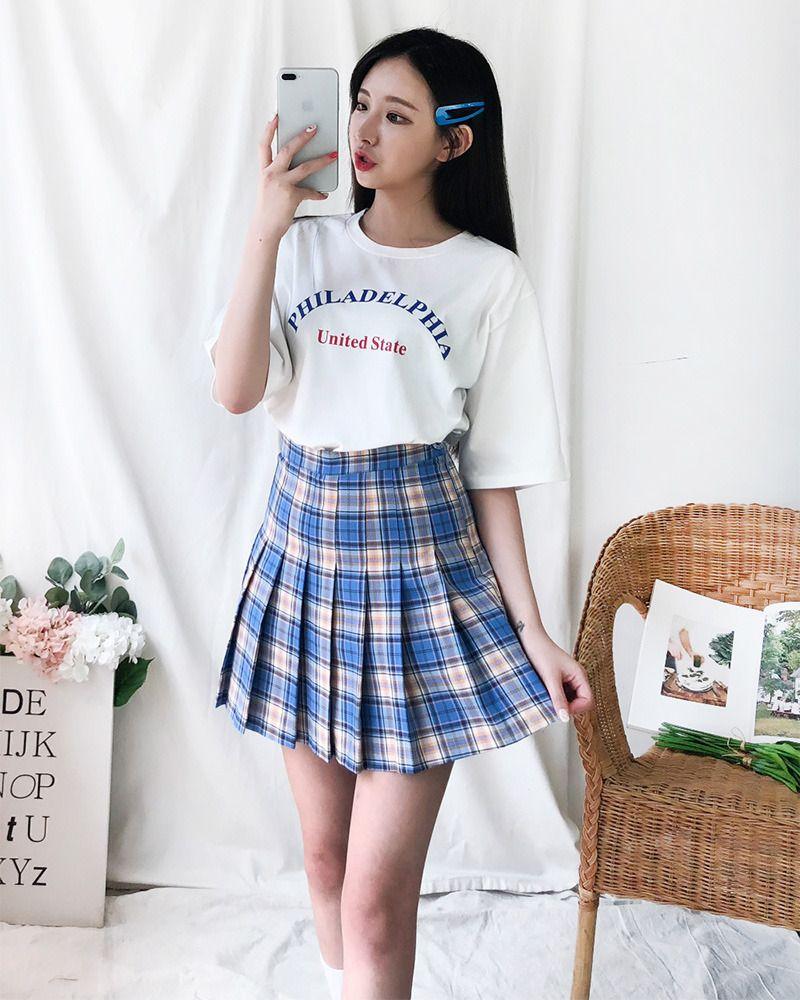 Sweetie Tennis Skirt Korean Fashion Tennis Skirt Outfit Skirt Fashion