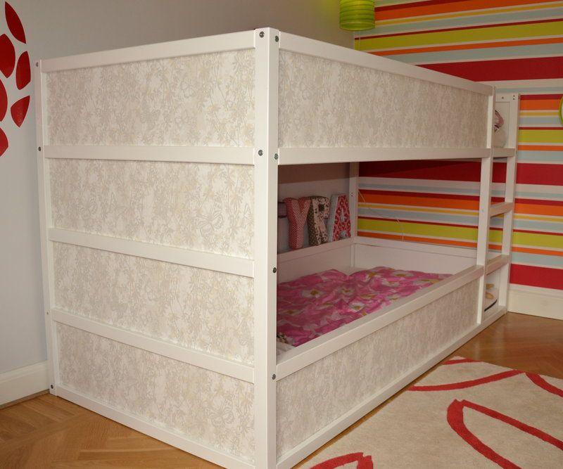 Girly Kura Bunk Bed Ikea Hackers Ikea Loft Bed Ikea Kura Bed