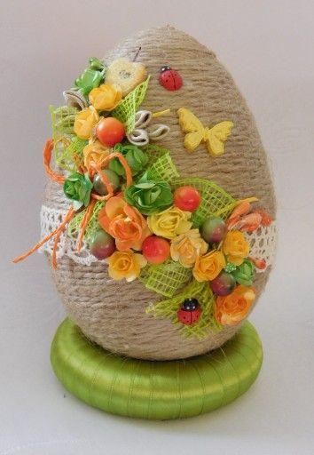 Piekne Jajko Pisanka Ozdoby Wielkanocne Rekodzielo 7853472397 Allegro Pl Easter Crafts Easter Egg Crafts Easter Diy