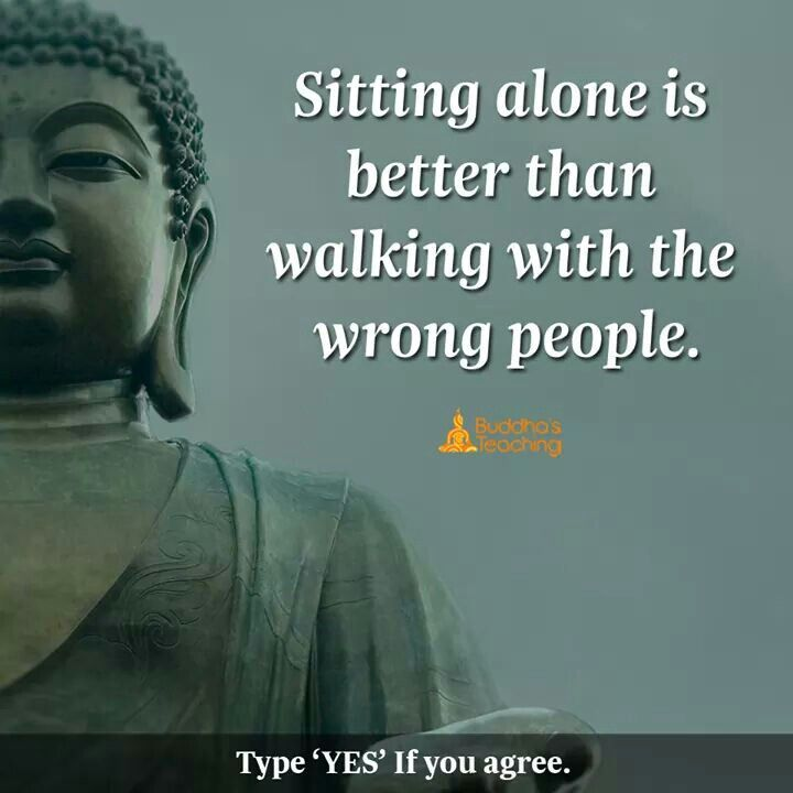 God Buddha Quotes In Hindi: It's Alright To Be Alone Some