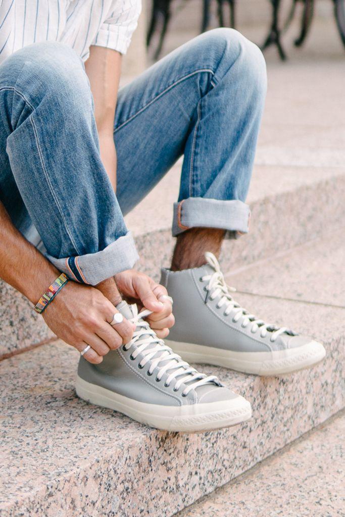 PF Flyers grey leather - Workwear Rambler