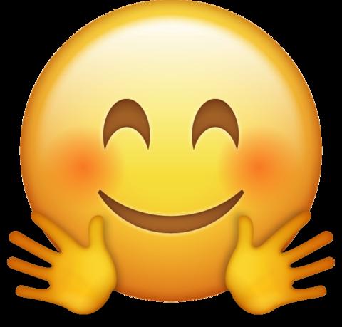 Hugging Emoji Download Iphone Emojis Emoji Menggambar Emoji Gambar