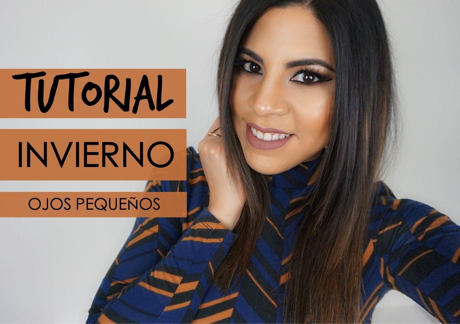 TUTORIAL MAQUILLAJE INVIERNO (OJOS PEQUEÑOS)  | Makeup by Michela