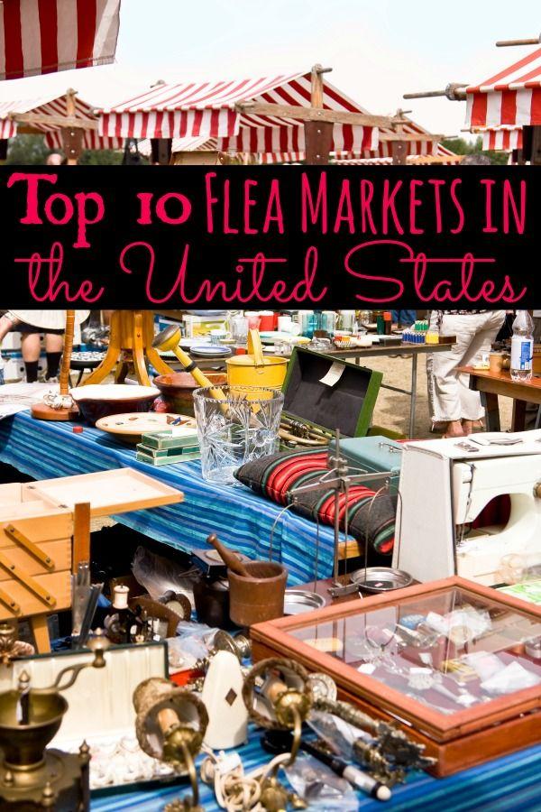 Top 10 BEST Flea Markets in the USA