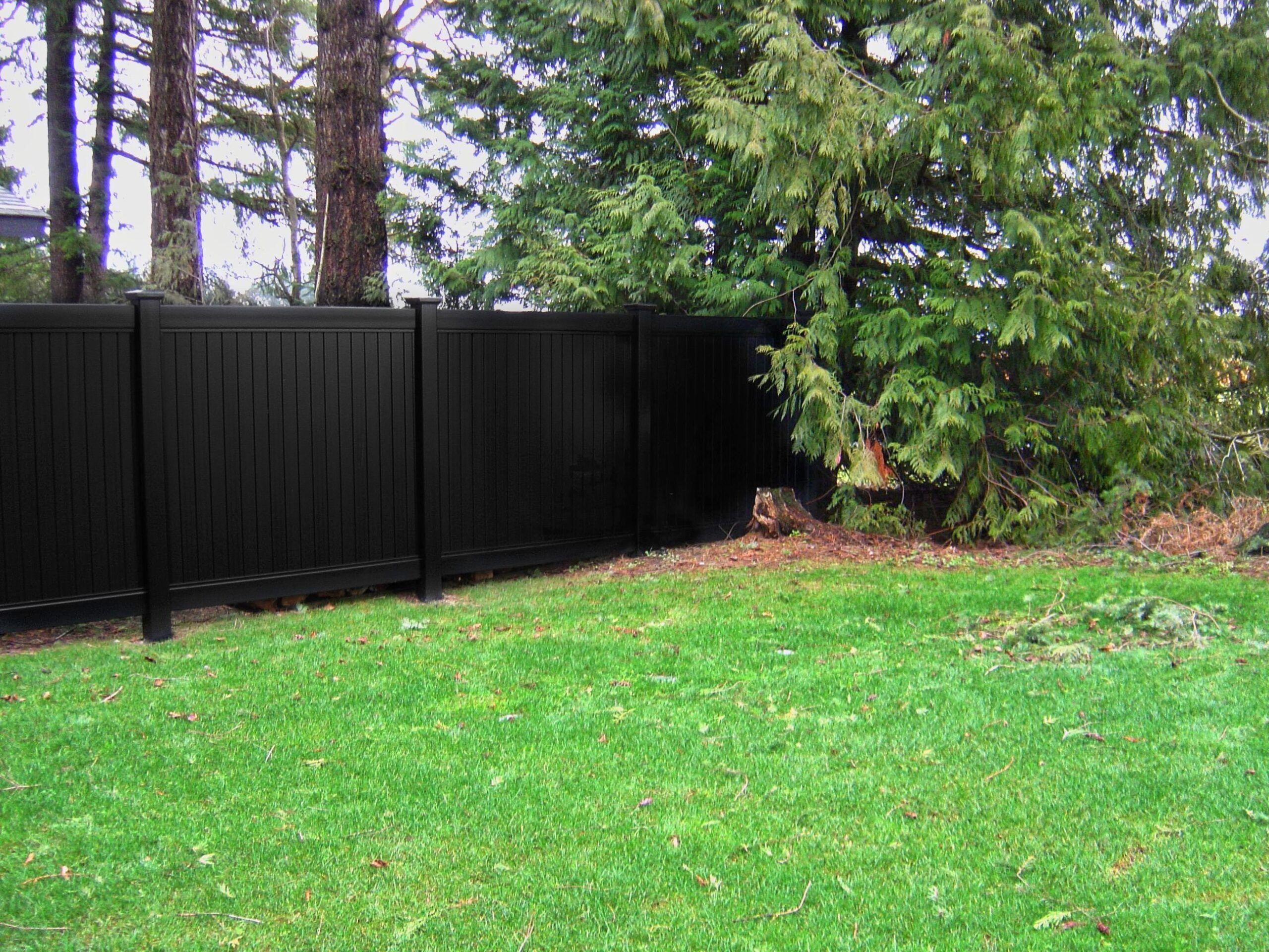 Lattice Black Vinyl Privacy Fencing Blackline Hhp Vinyl Fence Vinyl Fence Colors Vinyl Privacy Fence