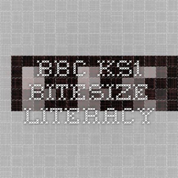 BBC - KS1 Bitesize - Literacy