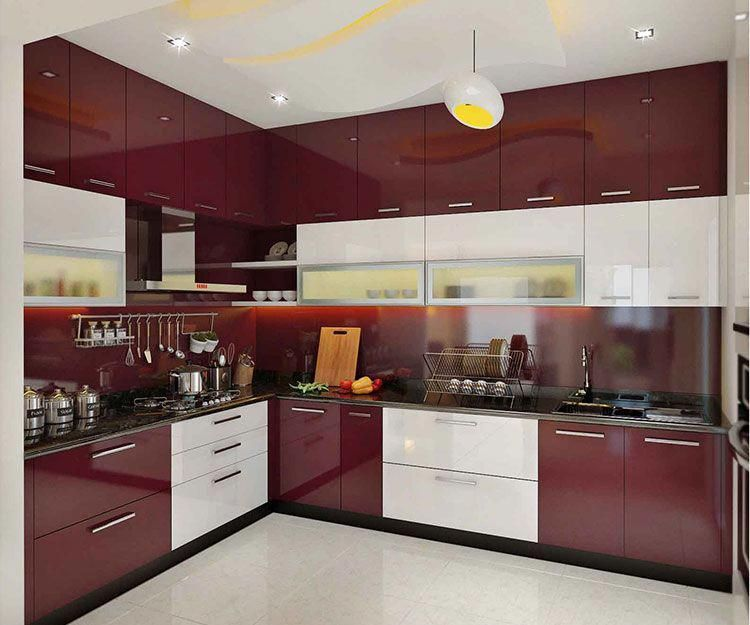 Modular Kitchen - Magnon India in 2020 | Kitchen modular ...