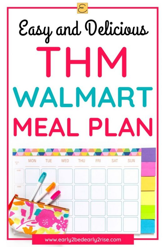 This easy THM Walmart Meal Plan is awesome for losing weight with THM and perfect for families With tips of saving time and money THM beginners and other Trim Healthy Mam...