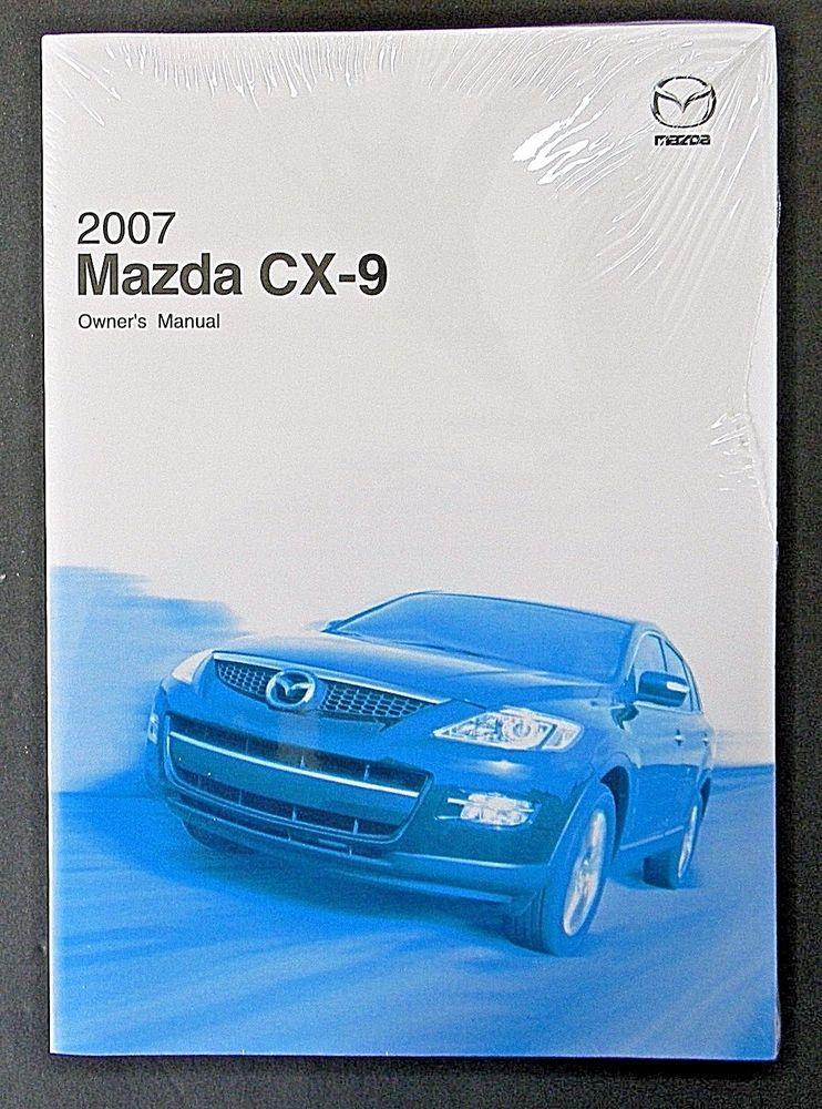 2007 mazda cx 9 owners manual parts service new original car rh pinterest com 2007 Mazda CX-9 White 2007 mazda cx 9 workshop manual
