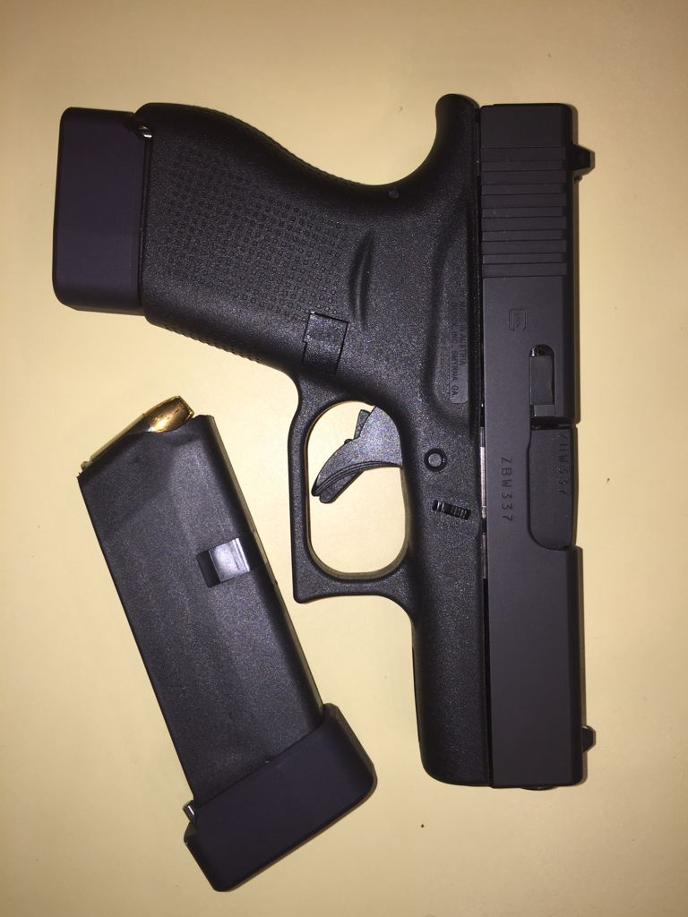 Glock 43 Extended Magazines, Plus 2, etc - Glock Accessories & Gear ...