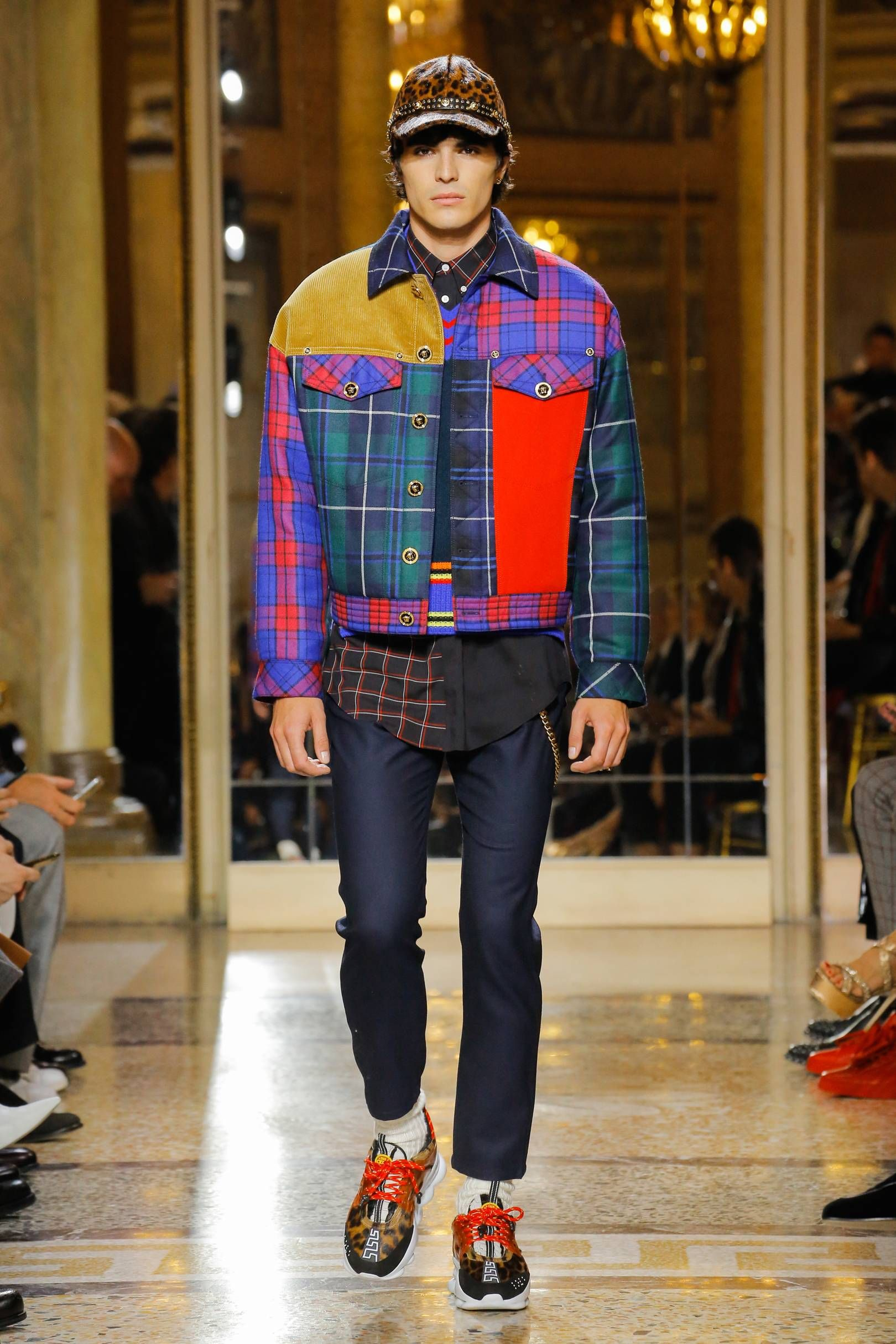 Versace autumnwinter hurley mens fashion menswear trendy