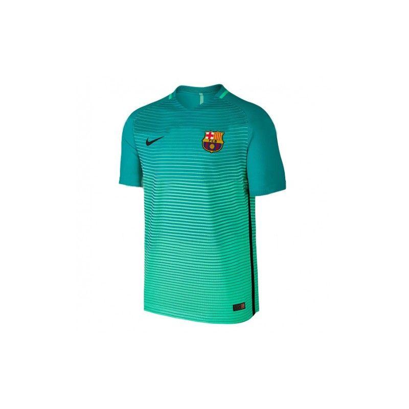 3ª Camiseta FC Barcelona 2016 2017 Verde  9db3f7949cc