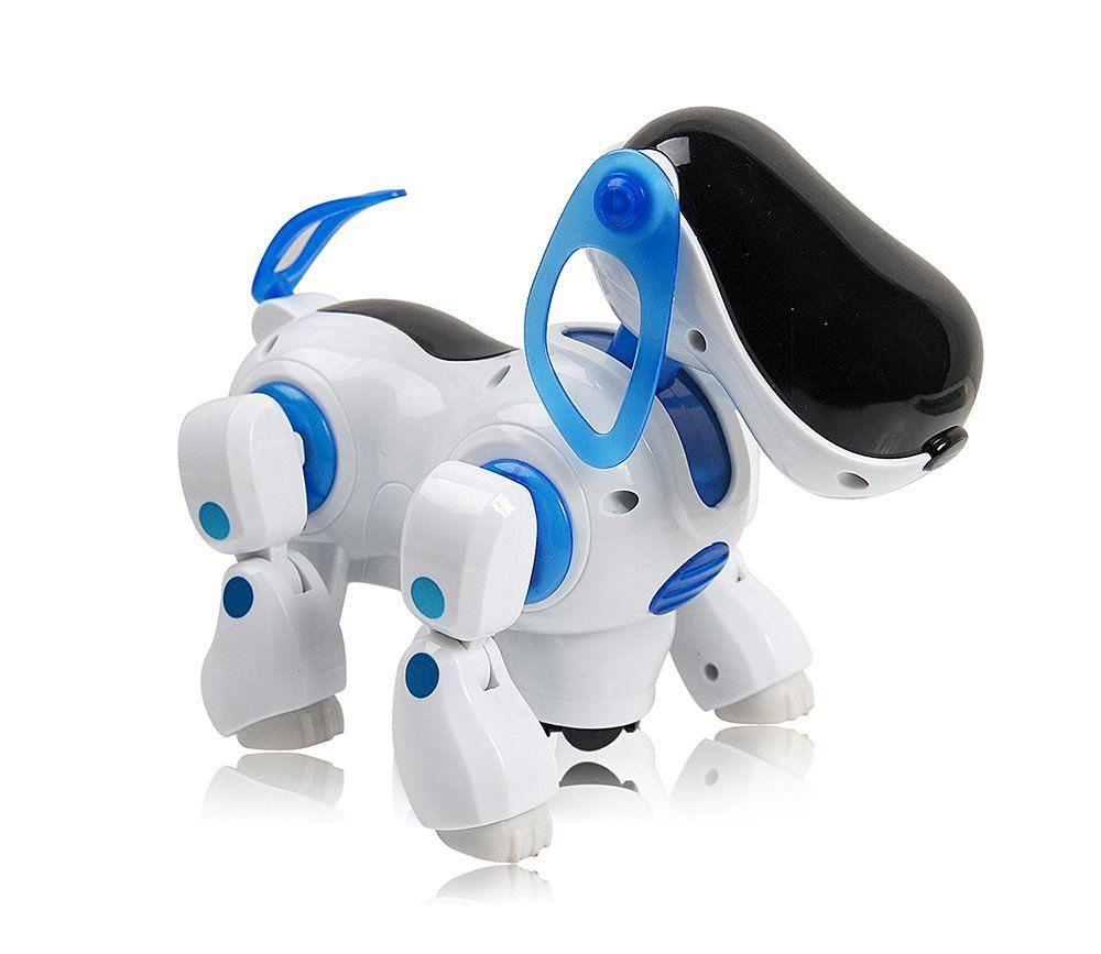 I Robot Dog Walking Nodding Child Kids Toy Robots Pet Puppy Electronic Light