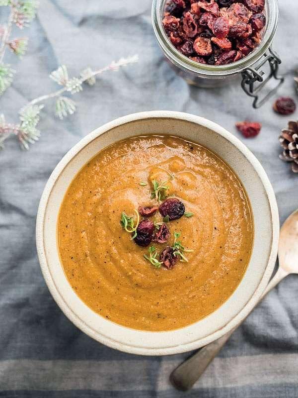 Christmas Soup.Christmas Soup