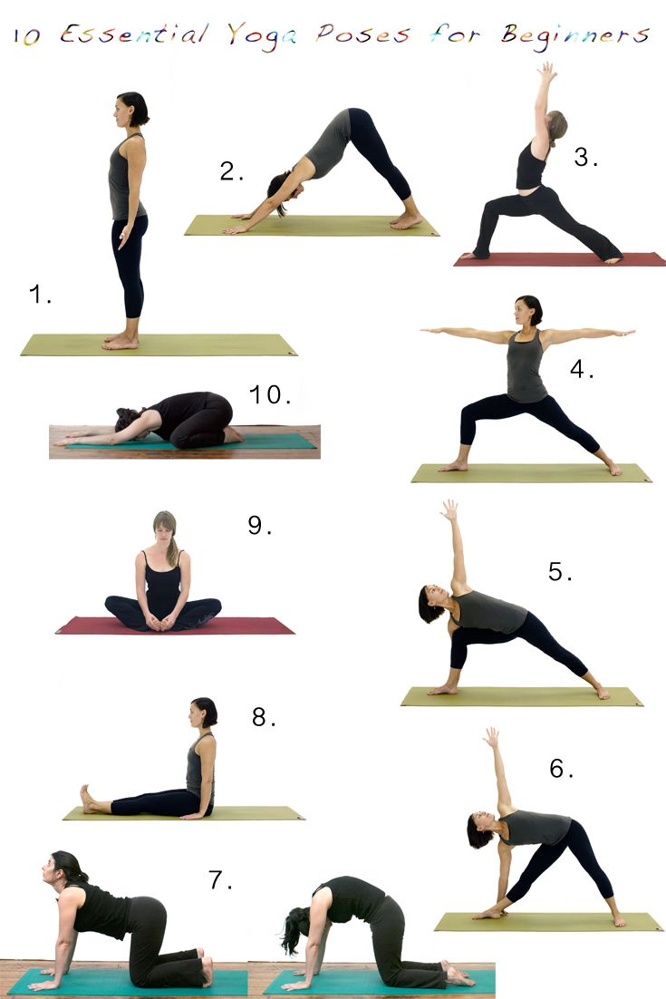 What Are Some Essential Yoga Poses for Beginners?  Essential yoga