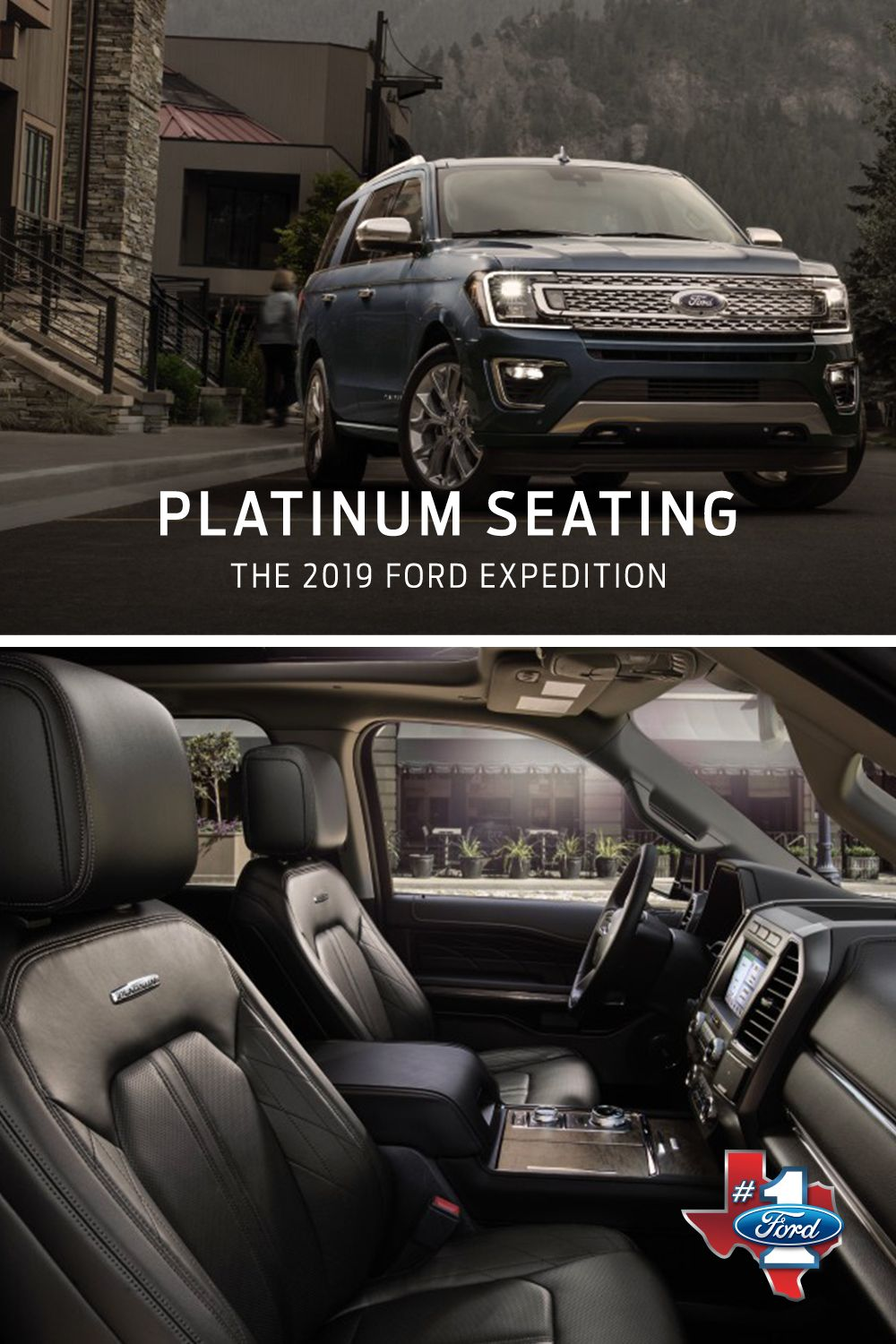 Look At Those Leather Trimmed Seats Of The 2019 Ford Expedition