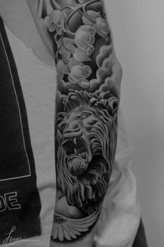 02507257e8298 Tatuagem Hercules, Hercules Tattoo, Zeus Tattoo, Angel Sleeve Tattoo, Arm Sleeve  Tattoos