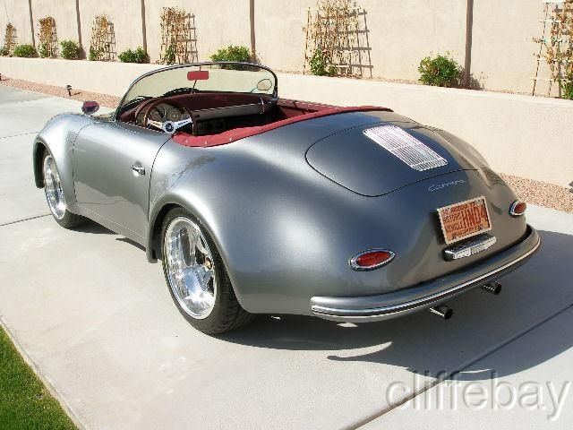 1957 Porsche 356 Speedster Wide Body Replica Art On