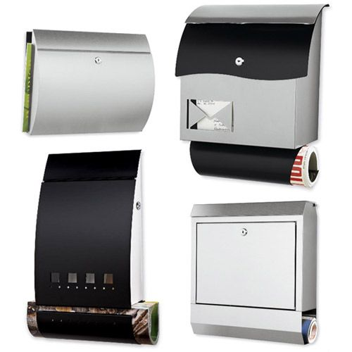 Chiasso Has Some New Modern Mailboxes In Their Spring/summer Lineup.
