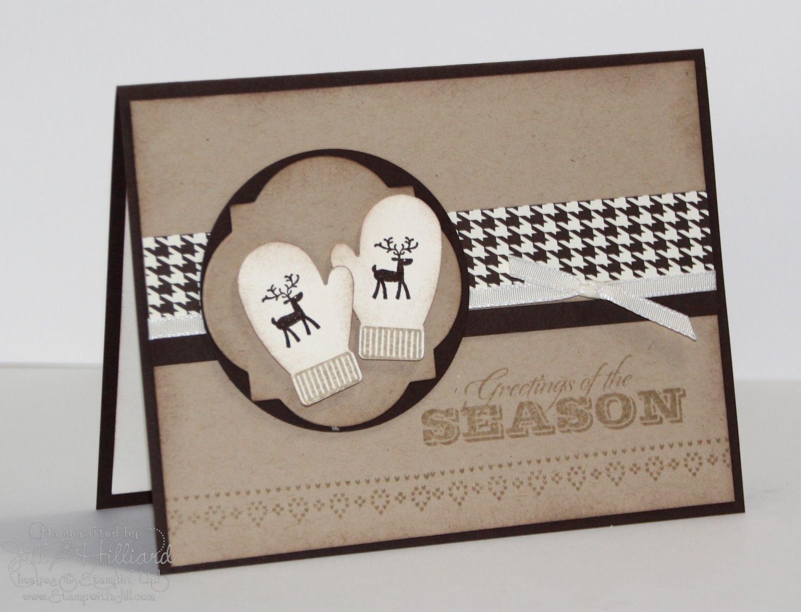 Jills Card Creations Greetings Of The Season Christmas Cards