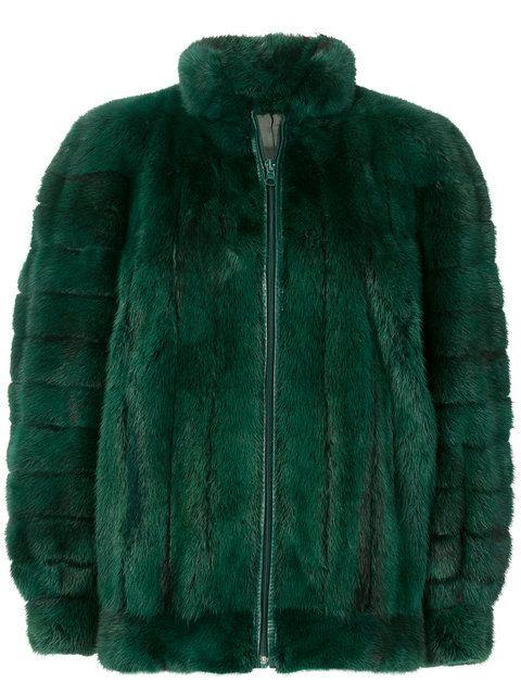 Christian Dior Vintage Mink fur coat 1980