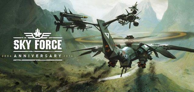 Sky Force 2014 – il mito ritorna su Android più bello e pompato che mai!
