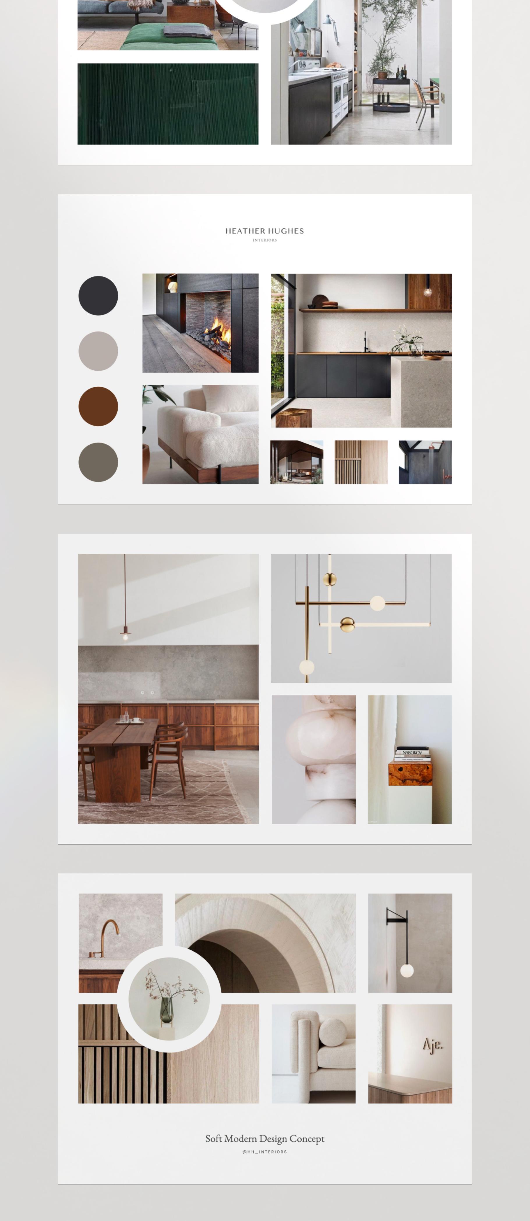 Oslo Moodboard Kit For Keynote Interior Design Portfolio Layout Interior Design Presentation Boards Interior Design Presentation