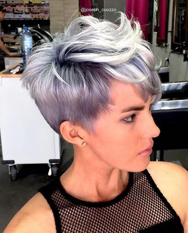 Grey pixie hair cut u gray hair colors for short hair u hairstyles