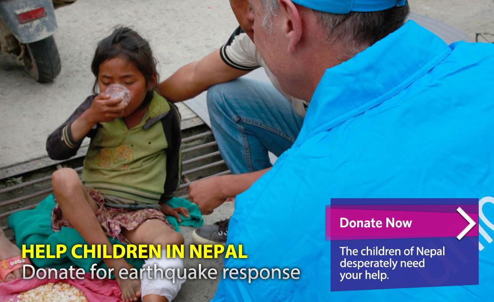 Help Children in Nepal: Donate for earthquake response http://www.supportunicef.org/site/c.dvKUI9OWInJ6H/b.9274583/k.FBFF/Help_Children_in_Nepal_Donate_for_earthquake_response.htm