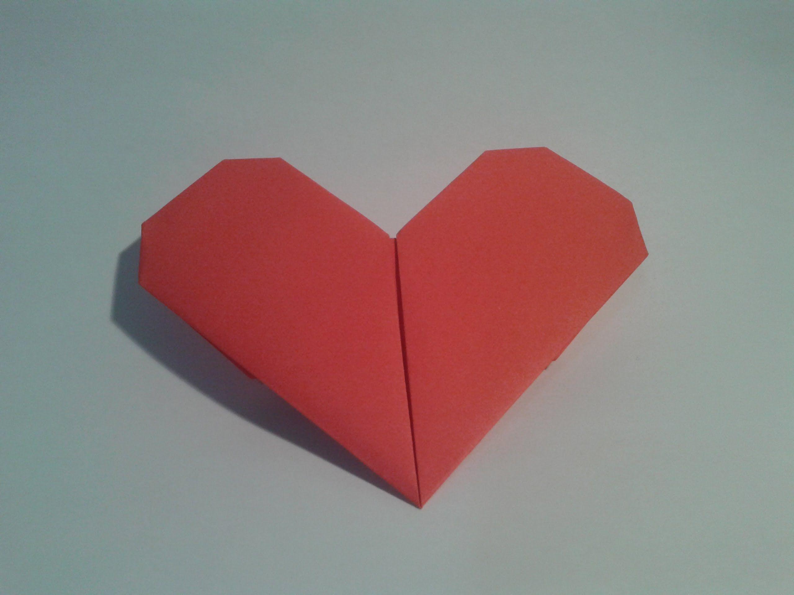 Картинки оригами сердце, ангелов сердец