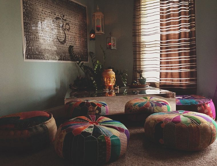 50 Meditation Room Ideas That Will Improve Your Life. Yoga Studio HomeHome  ...