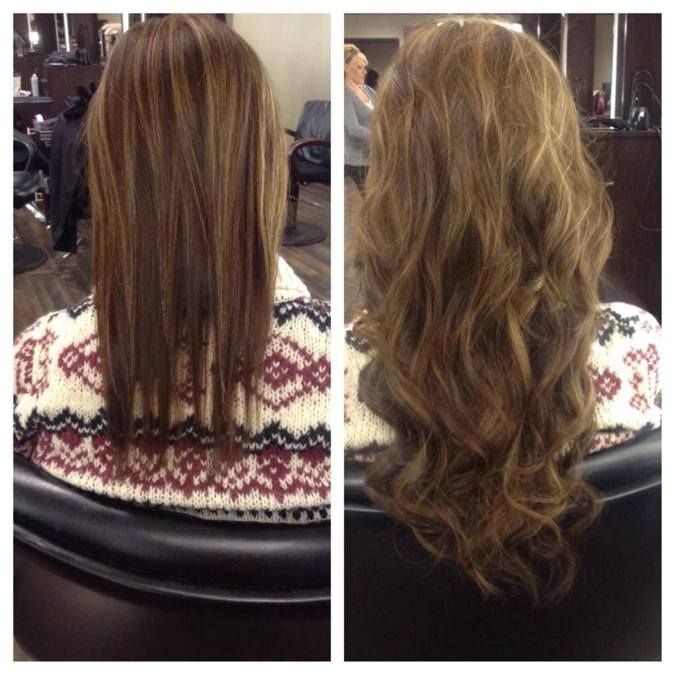Cold Fusion Hair Extensions Done At Illusions Color Spa By Tyra