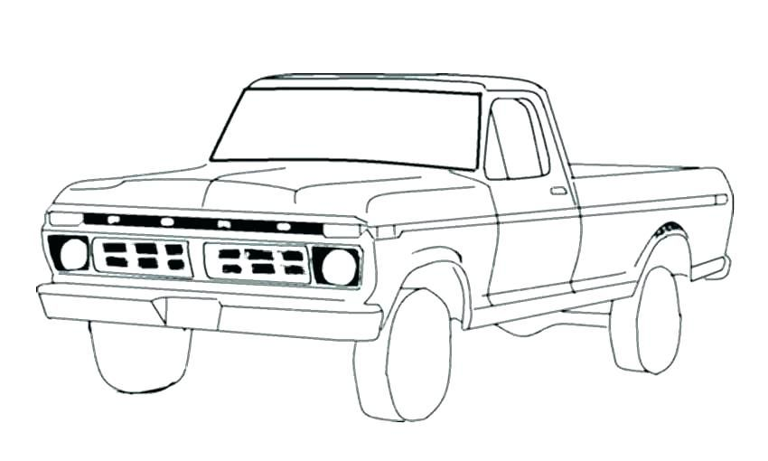 Printable Truck Coloring Pages Free Coloring Sheets Truck Coloring Pages Monster Truck Coloring Pages Old Ford Truck