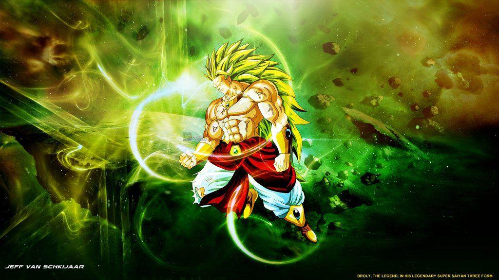 Broly Legendary Super Saiyan 3 Wallpaper By Jeffery10 My Most