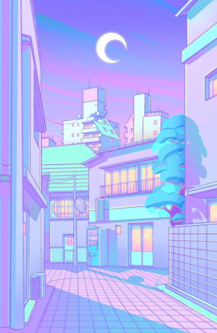 Stick To Our Pinterest Facebook Instagram For Even More Anime Day To Day Search For Anime In 2020 Cute Pastel Wallpaper Vaporwave Wallpaper Aesthetic Pastel Wallpaper