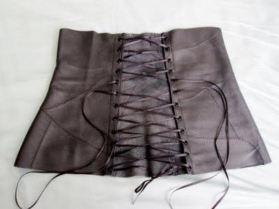 An Easy Diy Corset No Boning Just The Corset Look For A