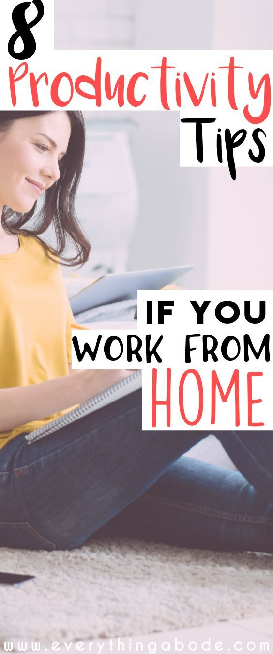 8 Best Productivity Tips for Working From Home Do you work from home? Productivity can be really hard, especially if you work from home… this post shares 8 simple productivity tips for those who work from home and are craving work/life balance. So you've left your 9 to 5 and you want to be more productive from home now? Know that the way you...Read More » via @everythingabode