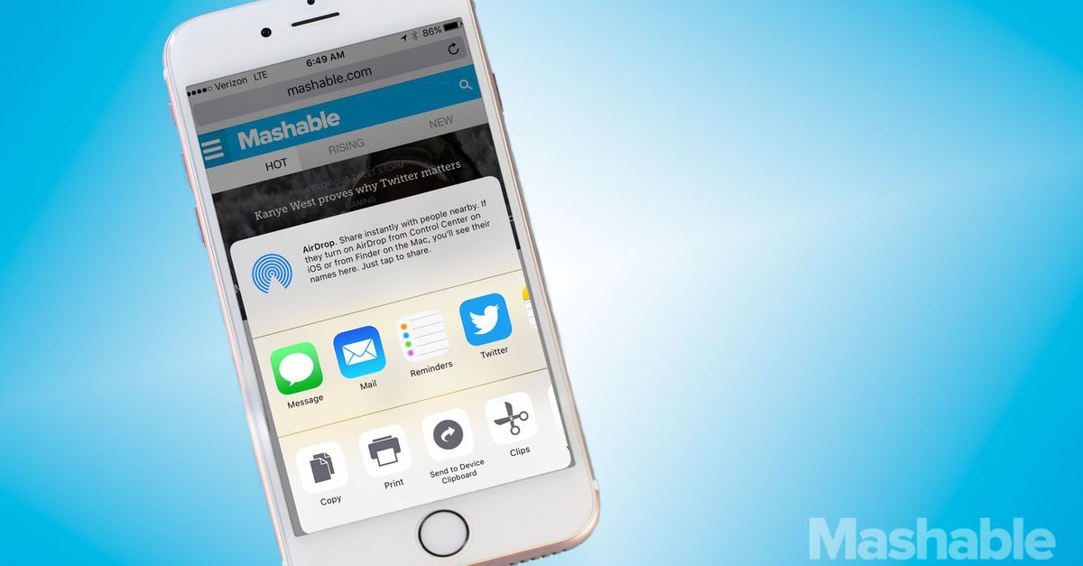 How to use your iPhone share button like a pro Share