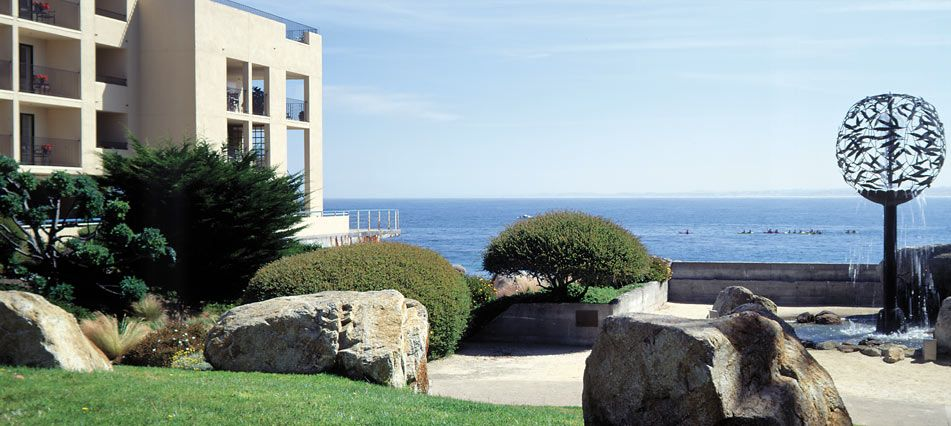 Monterey Bay Inn - Monterey, California  /This is an awesome place to stay with beautiful ocean views.